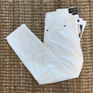 Lucky brand white jeans